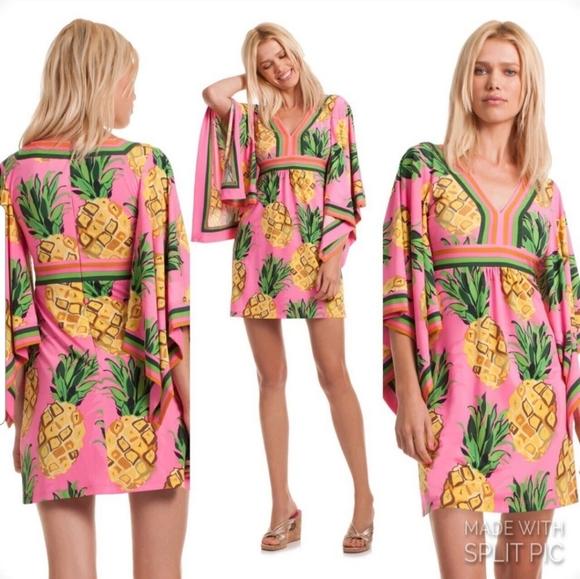 Trina Turk Kiari 🍍Pineapple Dress
